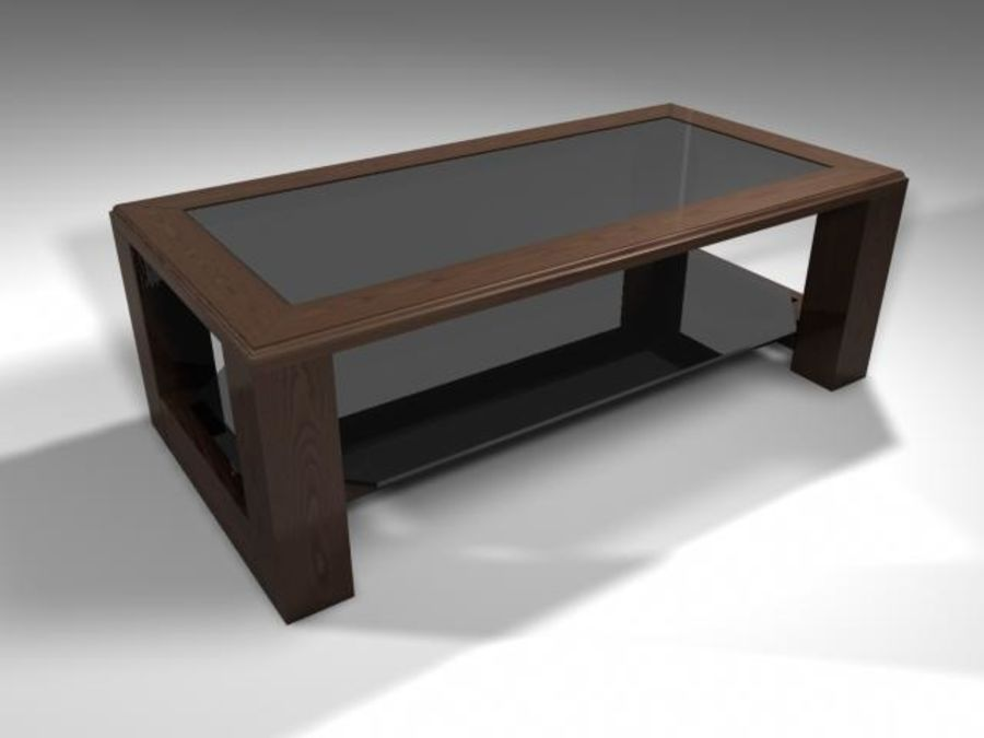 Mesa de salón royalty-free modelo 3d - Preview no. 2