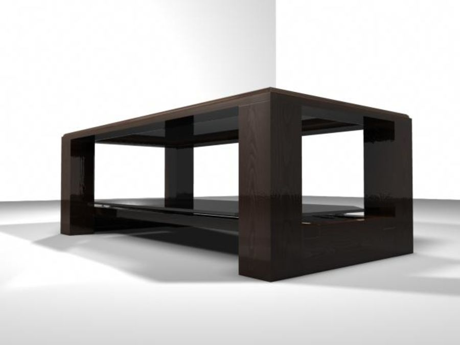 Mesa de salón royalty-free modelo 3d - Preview no. 4