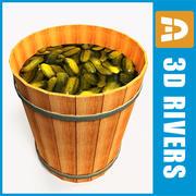 Cucumber barrel by 3DRivers 3d model