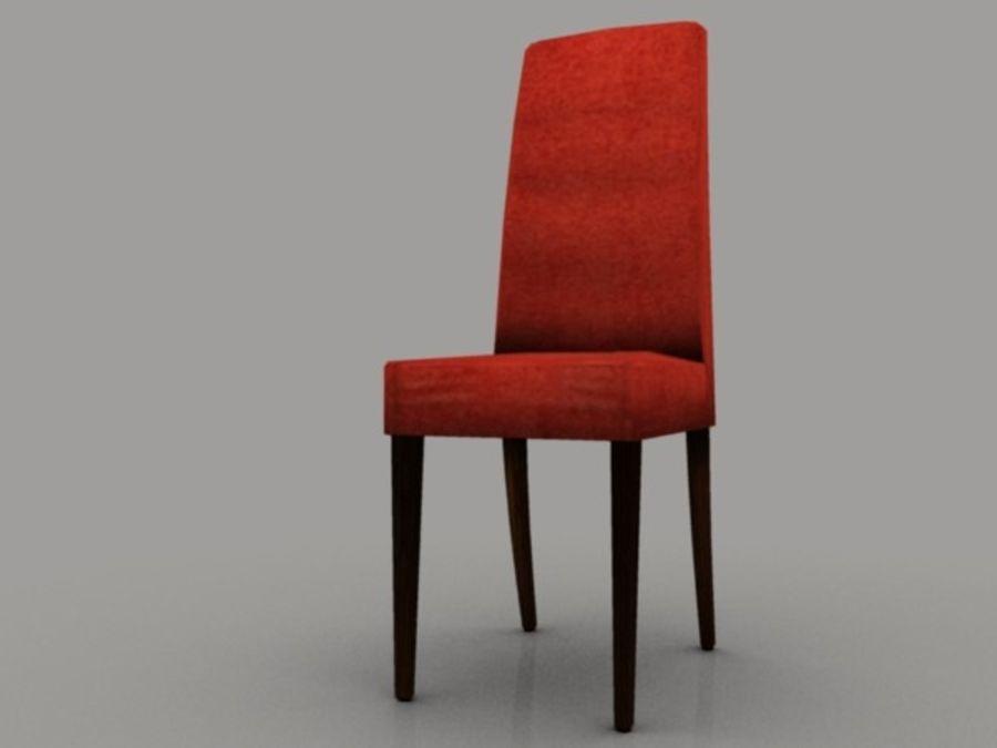 低聚椅 royalty-free 3d model - Preview no. 1