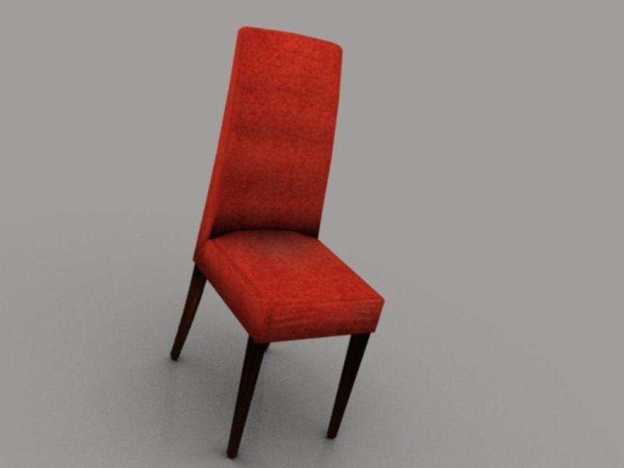 低聚椅 royalty-free 3d model - Preview no. 2