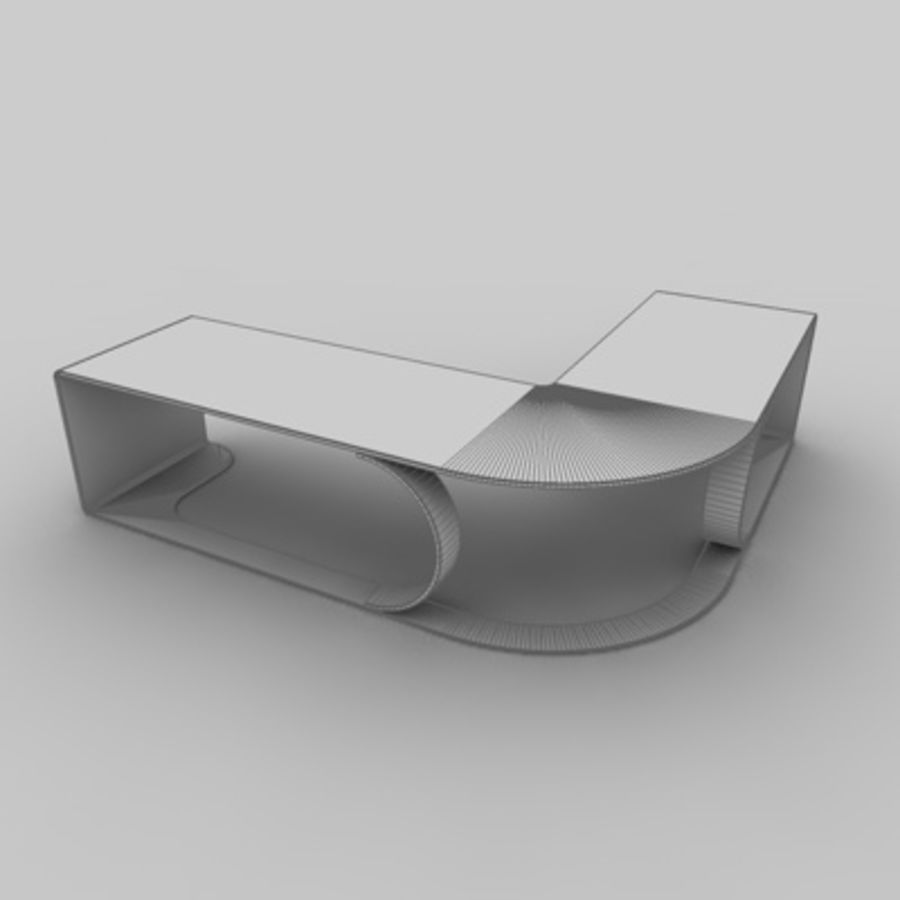 Office set 1 royalty-free 3d model - Preview no. 3
