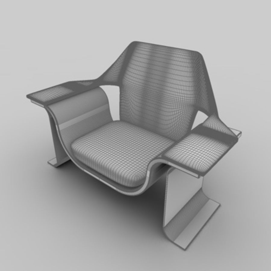 Office set 1 royalty-free 3d model - Preview no. 2