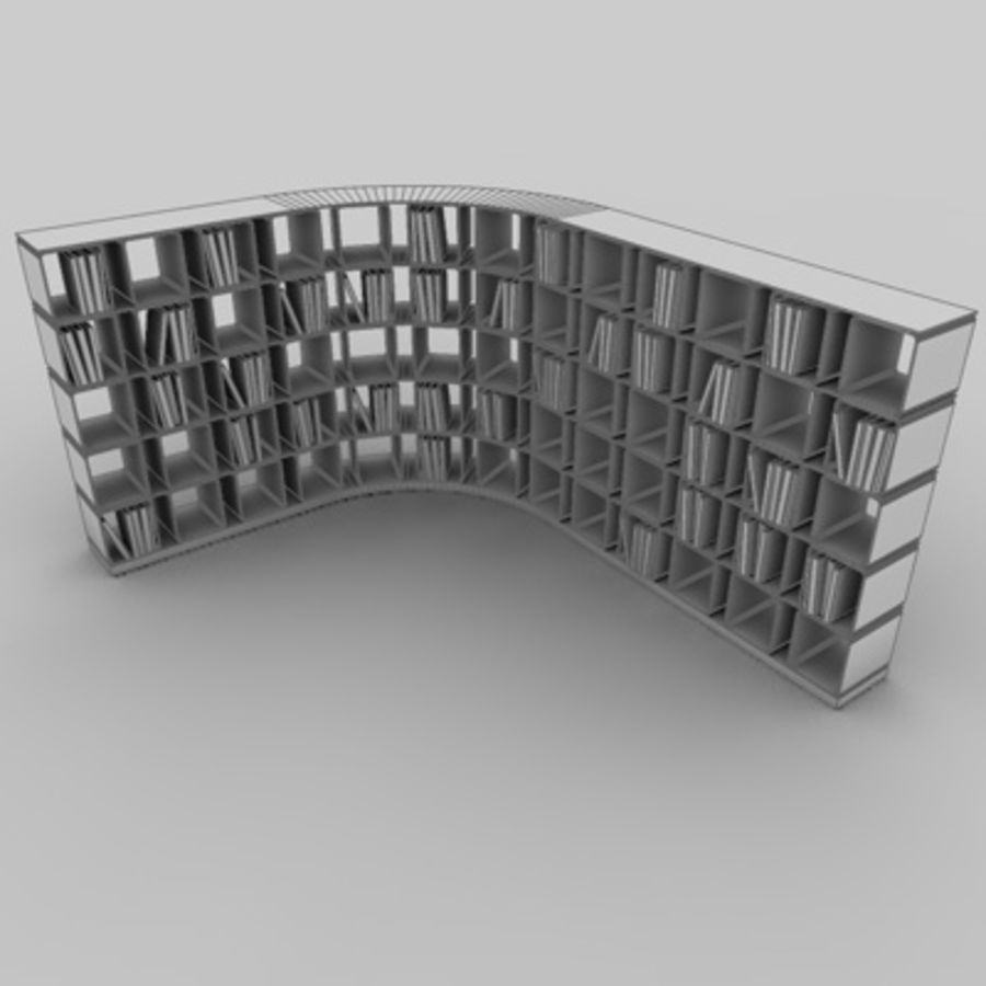 Office set 1 royalty-free 3d model - Preview no. 4