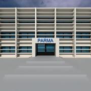 파르마 건축 3d model