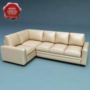 Sofa segmentowa 3d model