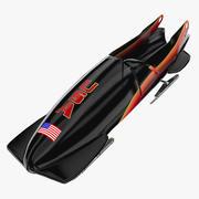 Kızak Kızağı - ABD 3d model