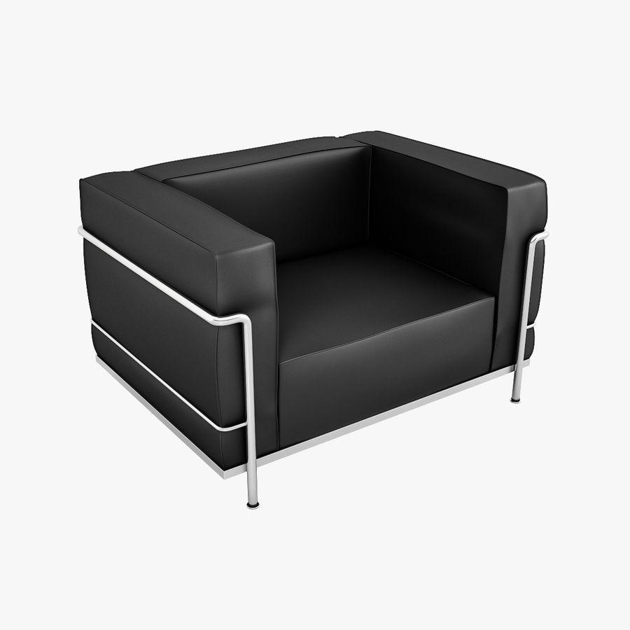 Le Corbusier Lc3 Sessel 3d Modell 29 Obj Fbx 3ds Max Free3d