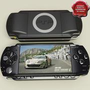索尼PSP 3d model