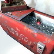 Cola Cooler Retro 01 3d model