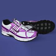 Chaussures de sport femme 3d model