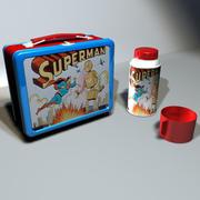 Superman Lunchbox 01 3d model