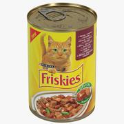 Friskiesブリキ缶 3d model