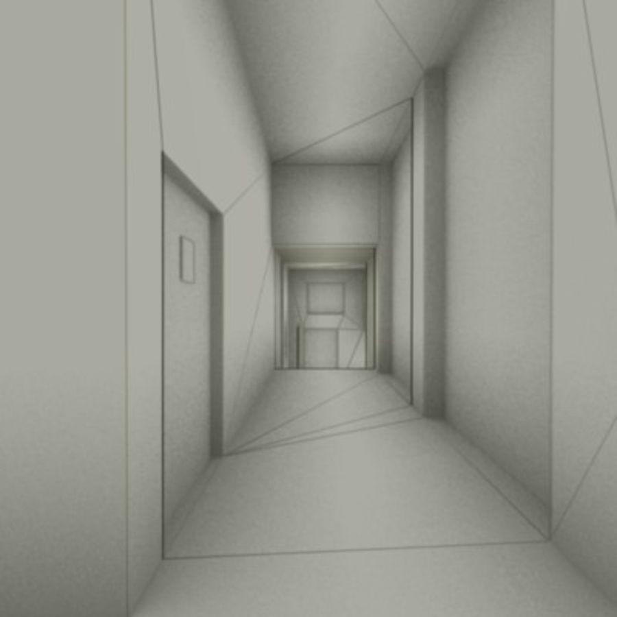 school interior royalty-free 3d model - Preview no. 44