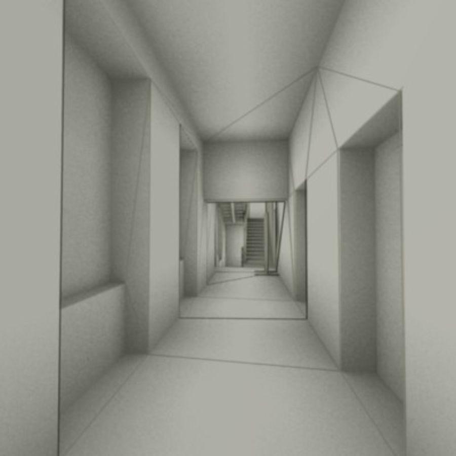 school interior royalty-free 3d model - Preview no. 20