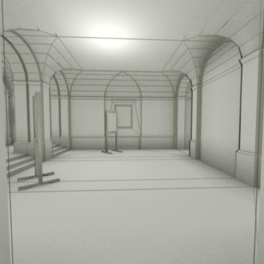 school interior royalty-free 3d model - Preview no. 5