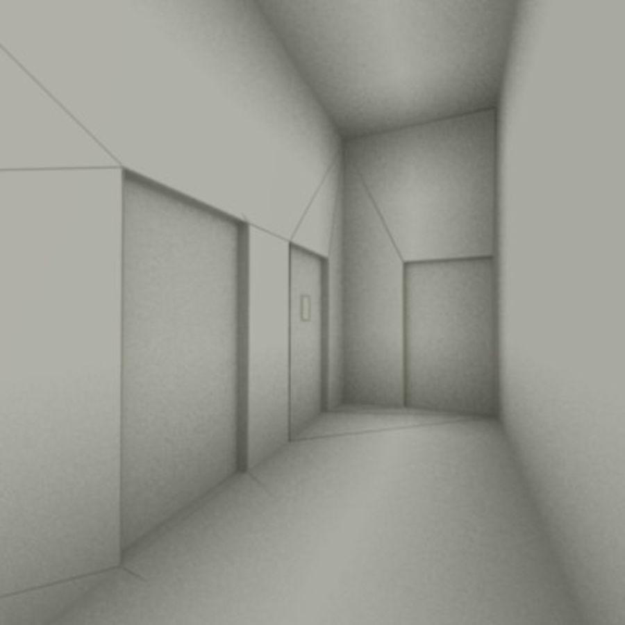 school interior royalty-free 3d model - Preview no. 14
