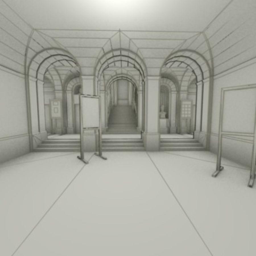 school interior royalty-free 3d model - Preview no. 3