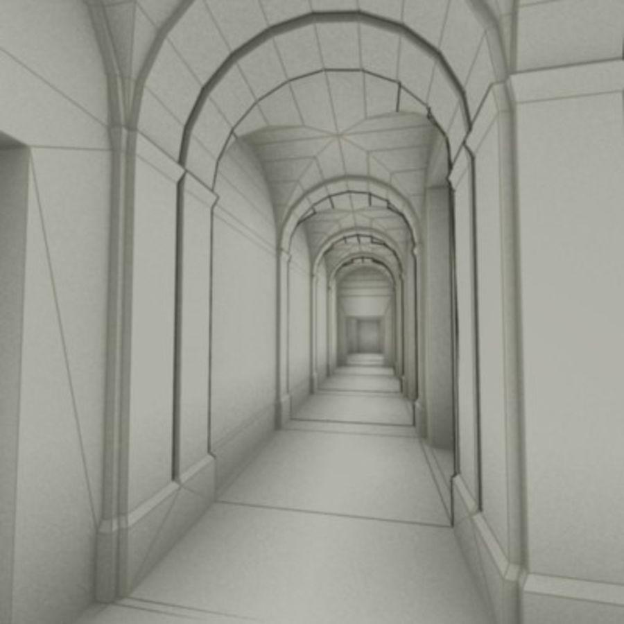 school interior royalty-free 3d model - Preview no. 47