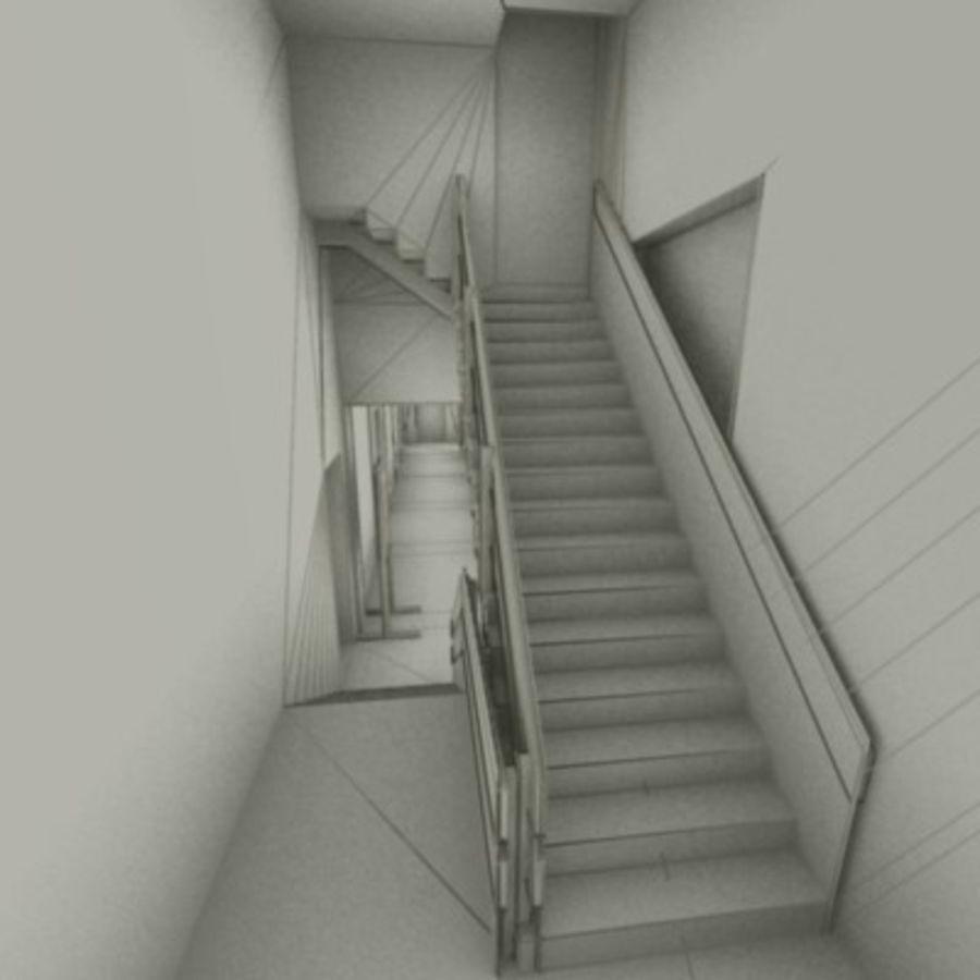 school interior royalty-free 3d model - Preview no. 27