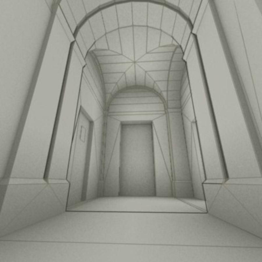 school interior royalty-free 3d model - Preview no. 12