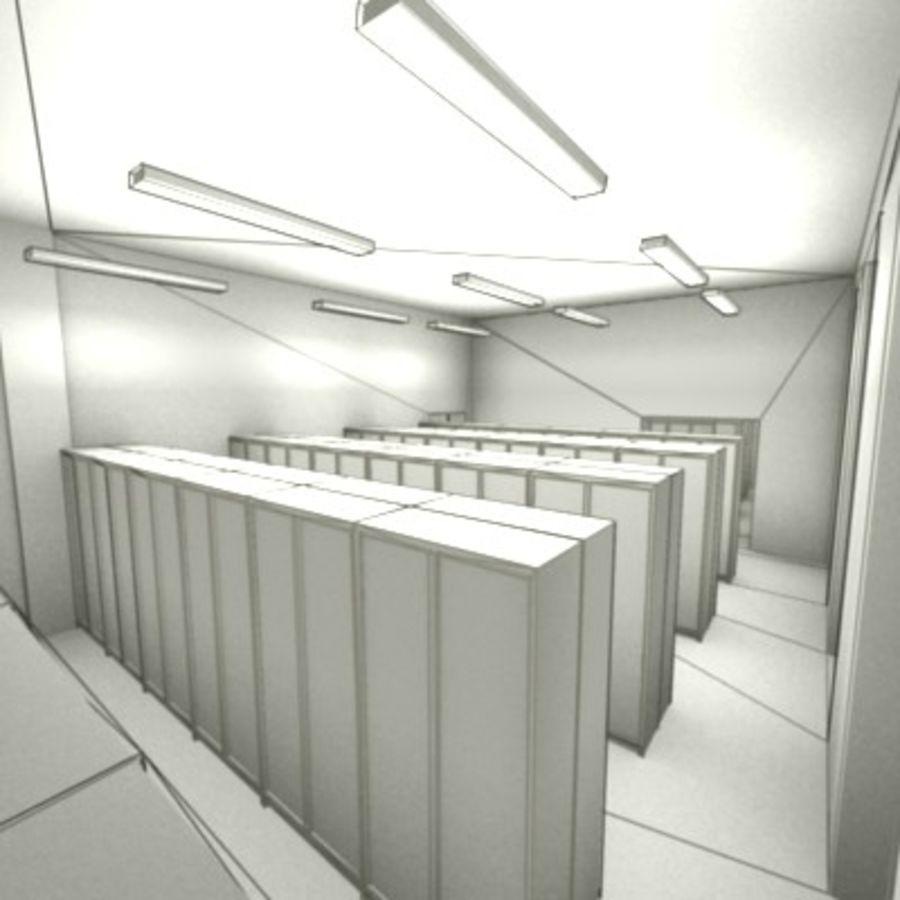 school interior royalty-free 3d model - Preview no. 8