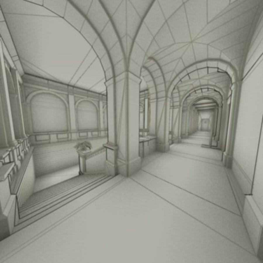 school interior royalty-free 3d model - Preview no. 35