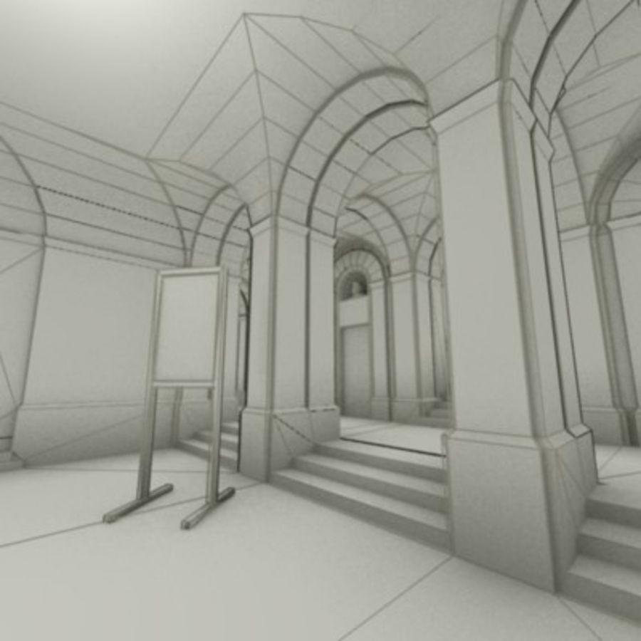 school interior royalty-free 3d model - Preview no. 4