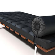 BARCELONA DAYBED 3d model