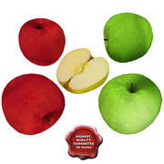 Apple Fruits collection 3d model