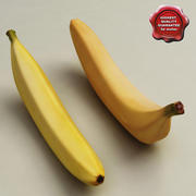Bananas collection 3d model