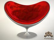 Love Chair 3d model