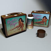 Betty Page Lunchbox 01 3d model