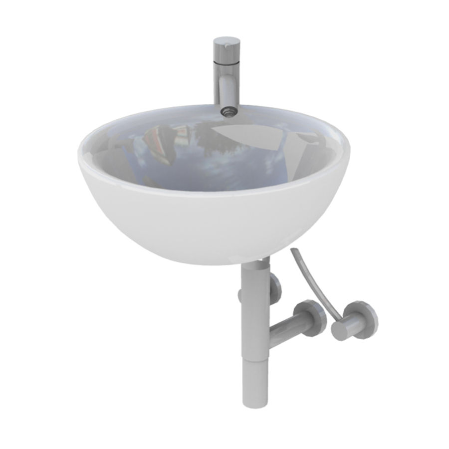 Bathroom Collection royalty-free 3d model - Preview no. 39