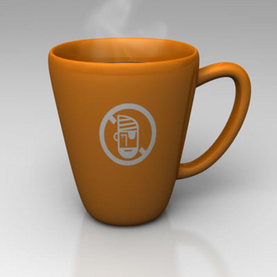 咖啡杯 royalty-free 3d model - Preview no. 2