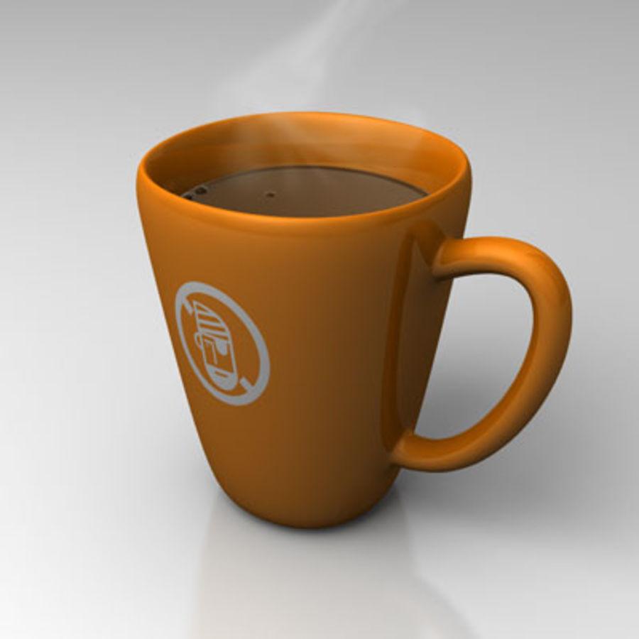 咖啡杯 royalty-free 3d model - Preview no. 3