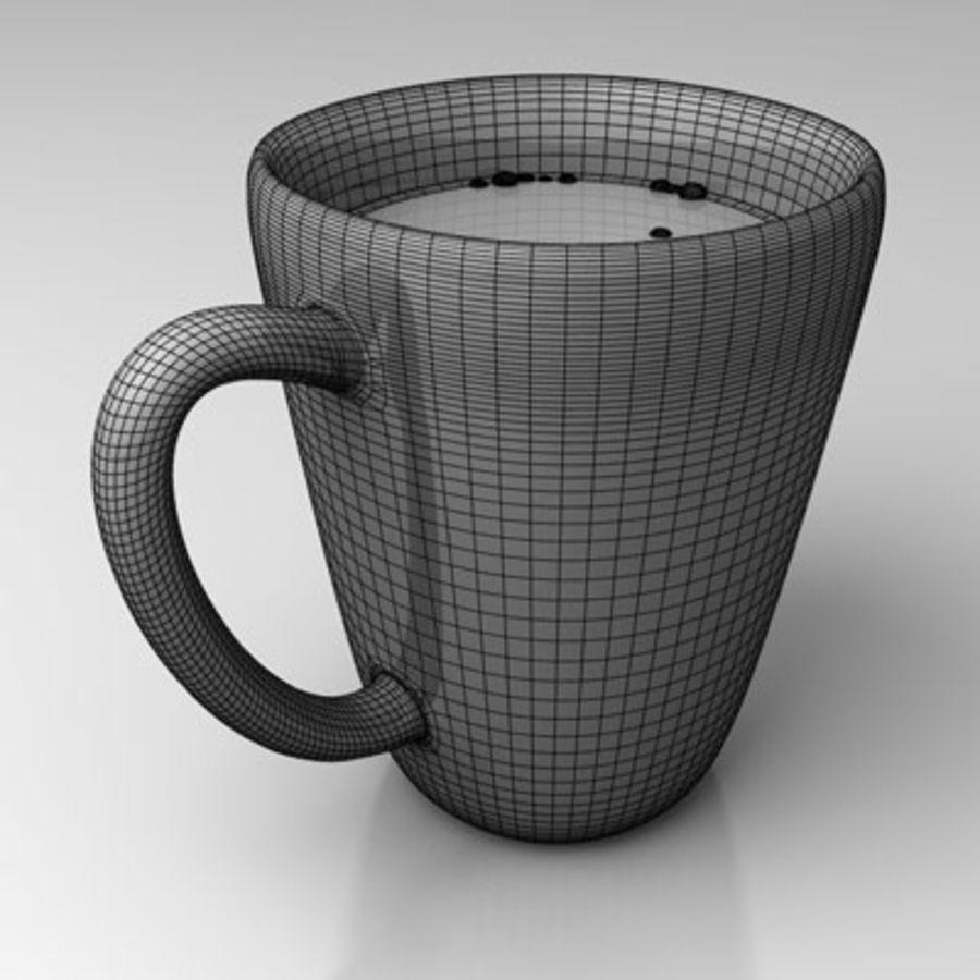 咖啡杯 royalty-free 3d model - Preview no. 4