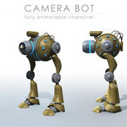 Camera Bot 3d model