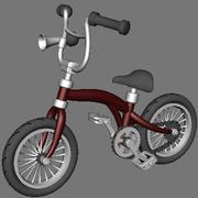 Animated Cartoon Bike 3d model