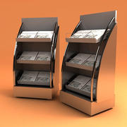 NEWSPAPER STAND 3d model