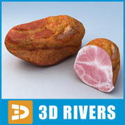 Ham 01 by 3DRivers 3d model