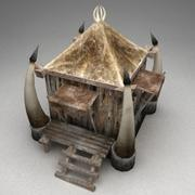 Goblin hut 1 3d model