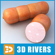Sausage 02 by 3DRivers 3d model