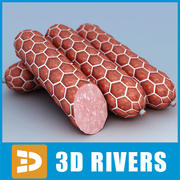 Sausage 04 by 3DRivers 3d model