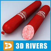 Sausage 08 by 3DRivers 3d model