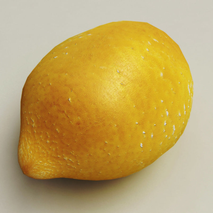 Lemons collection royalty-free 3d model - Preview no. 5