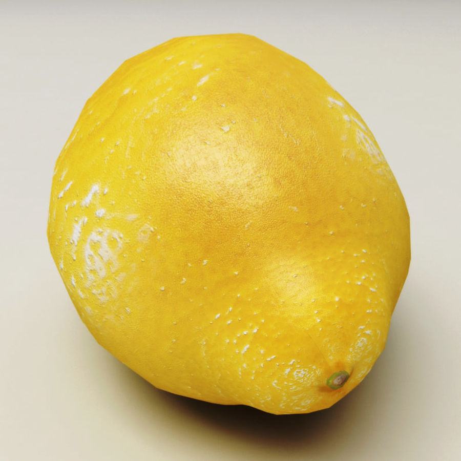 Lemons collection royalty-free 3d model - Preview no. 6
