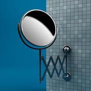 Shaving Mirror 3d model