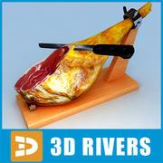 Jamon Serrano par 3DRivers 3d model