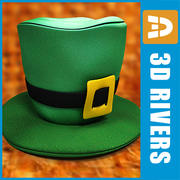 Saint Patricks day hat by 3DRivers 3d model